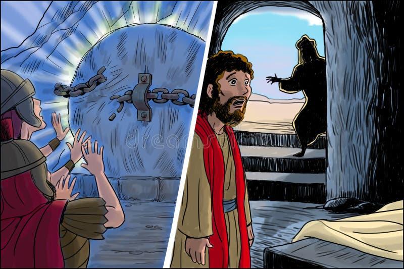 基督的复活 免版税库存图片