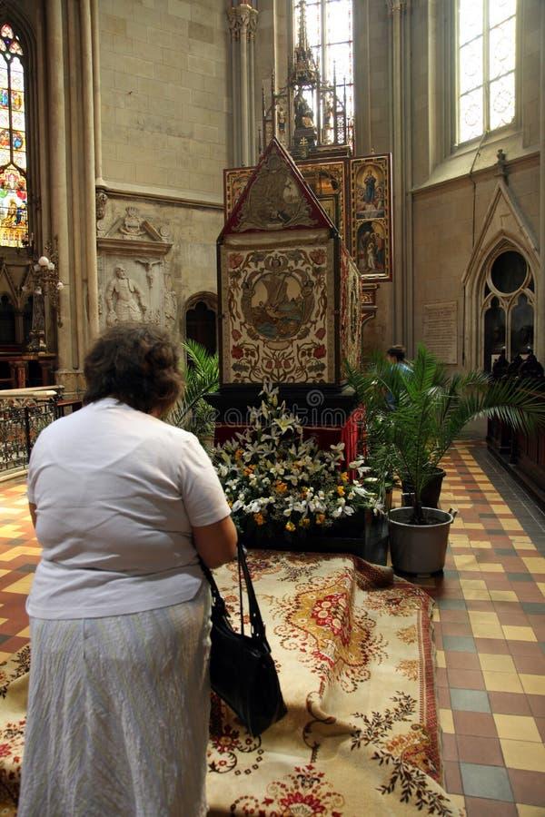 基督祷告坟茔 图库摄影