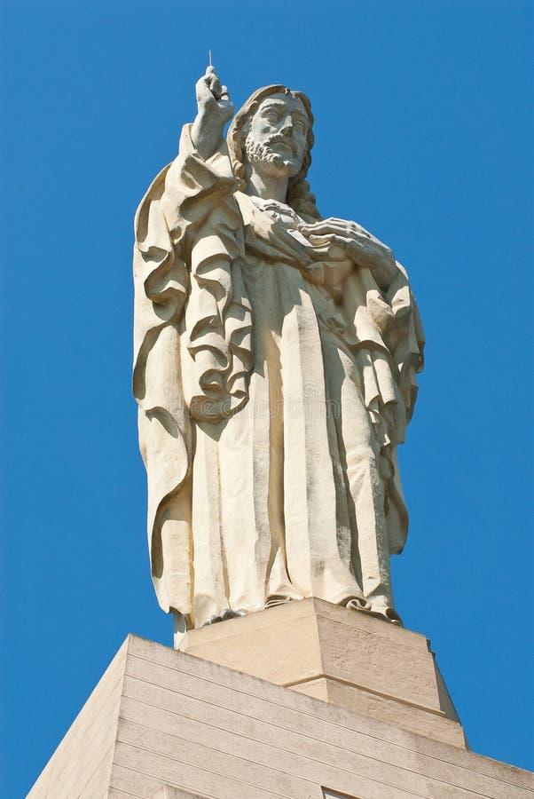 基督纪念碑 库存图片