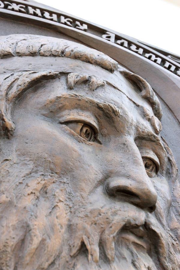 基督雕塑 免版税图库摄影