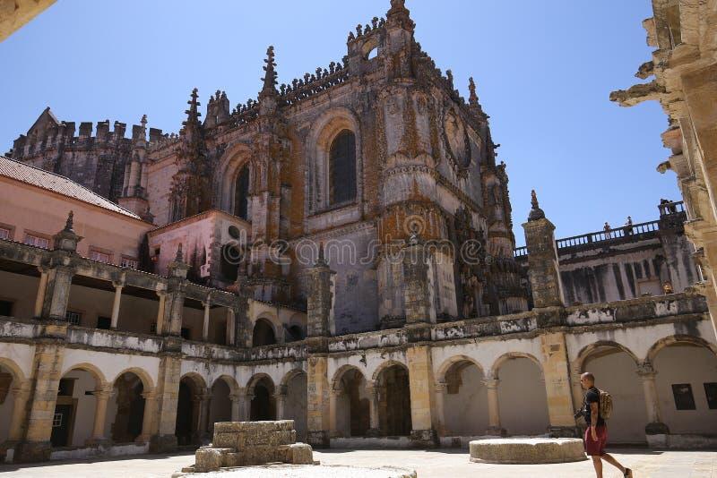 基督, Tomar,葡萄牙女修道院 库存照片