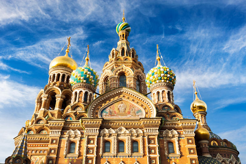 Download 基督(溢出的血液的救主),圣彼德堡,俄罗斯的复活的教会 库存照片 - 图片 包括有 正统, 温泉: 72369536