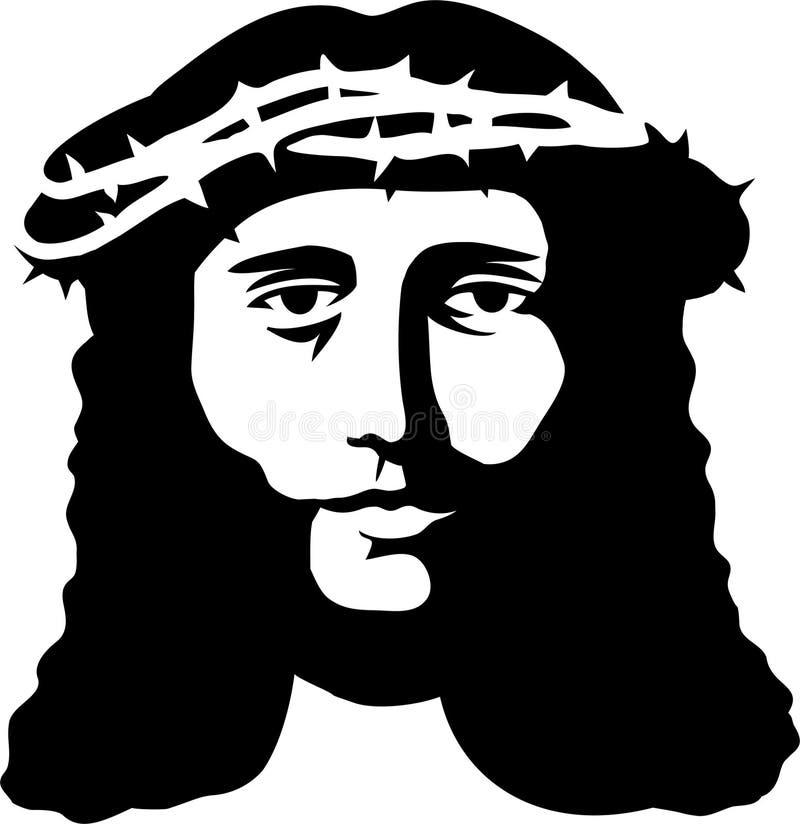 基督eps耶稣激情 向量例证
