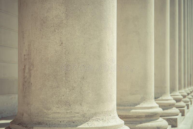 基础柱子 库存照片