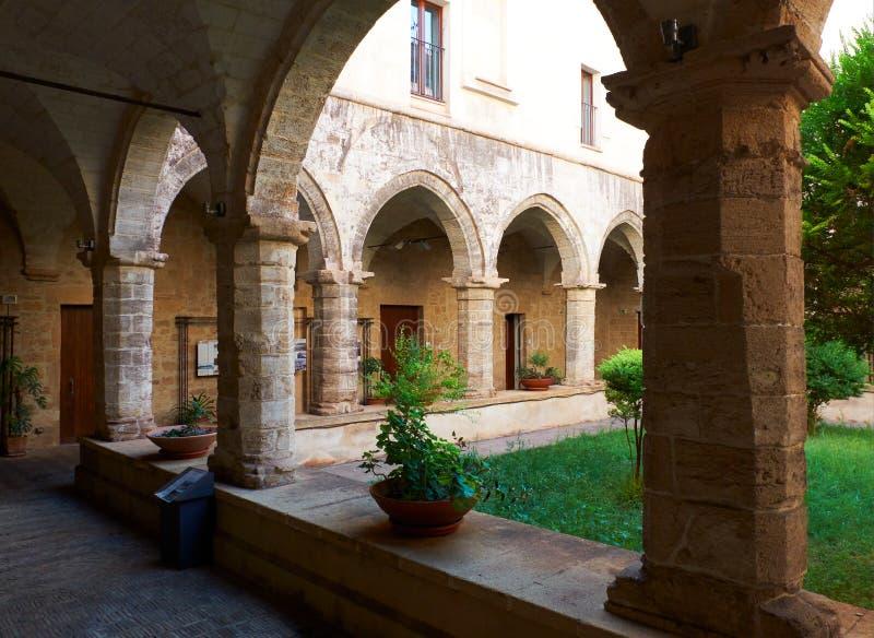 基耶萨di圣多梅尼科Maggiore在塔兰托 Apulia,意大利 库存图片