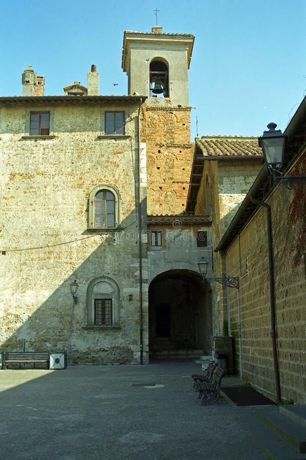 基耶萨Vecchia,切尔韦泰里,意大利 免版税库存图片