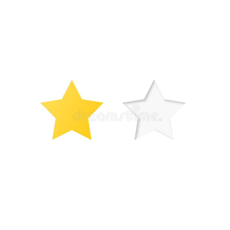 基色五格式例证一对估计的星形担任主角系统多种向量 库存例证