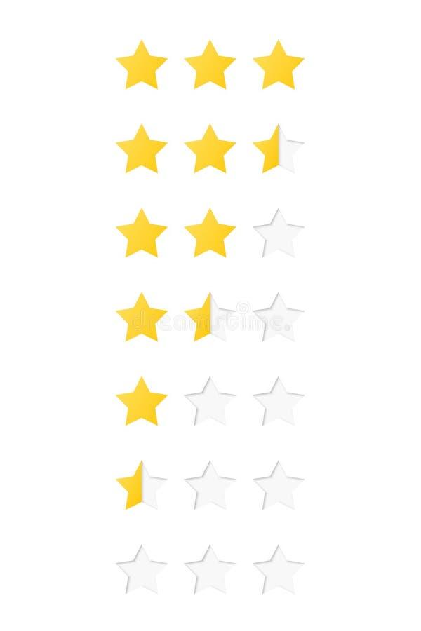 基色五格式例证一对估计的星形担任主角系统多种向量 向量例证