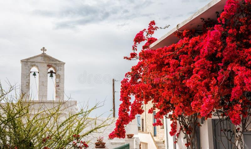 基莫洛斯岛海岛街道  免版税库存照片