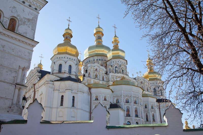 基辅修道院乌克兰vydubychi 图库摄影