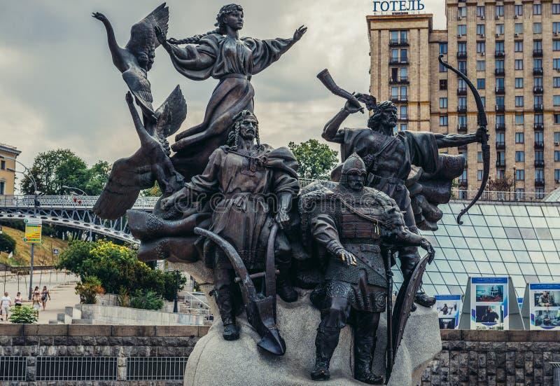 基辅纪念碑 免版税库存照片