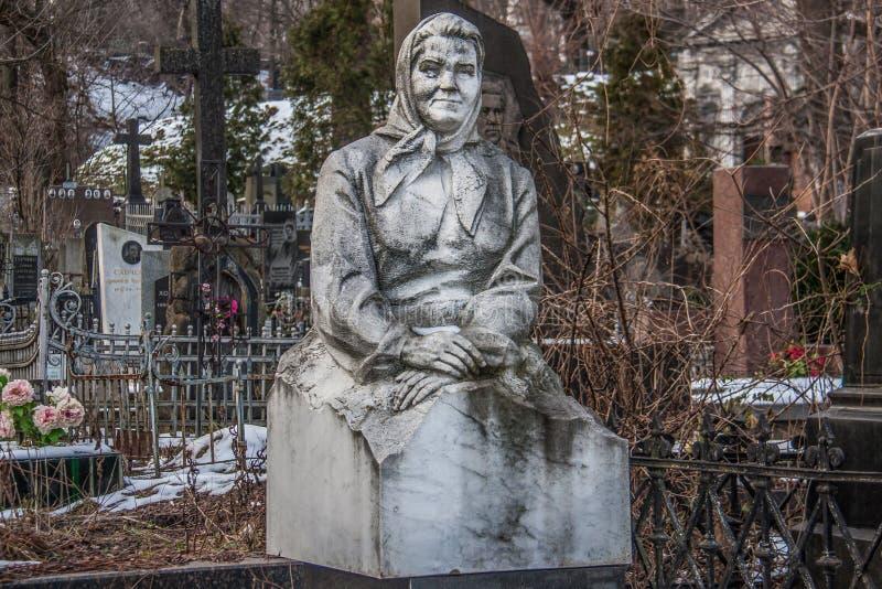 基辅,乌克兰雕象  免版税库存照片