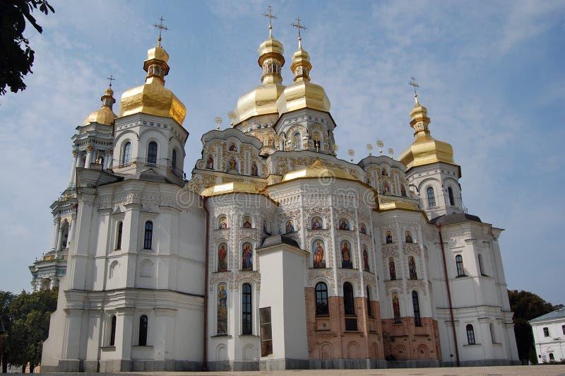 基辅lavra修道院pechersk 免版税图库摄影