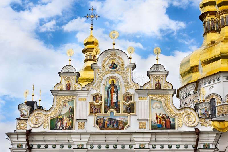 基辅Pechersk拉夫拉修道院在基辅,乌克兰 库存图片