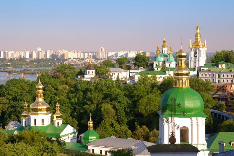 基辅Pechersk Lavra。 Kiev.Ukraine. 免版税图库摄影