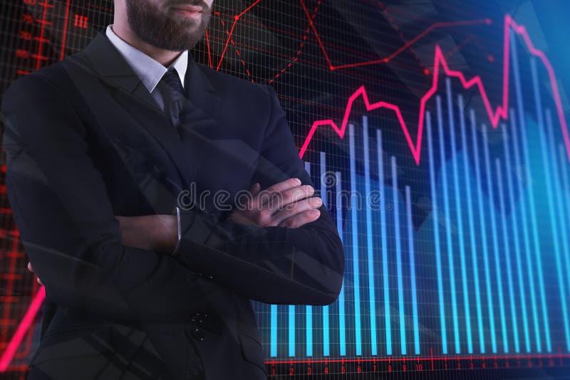 基金管理和未来 皇族释放例证
