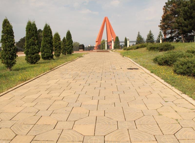 基什尼奥夫战争纪念建筑 库存照片