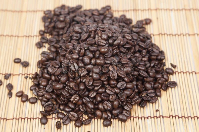 堆咖啡豆 图库摄影