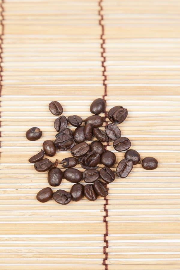 堆咖啡豆 免版税库存照片