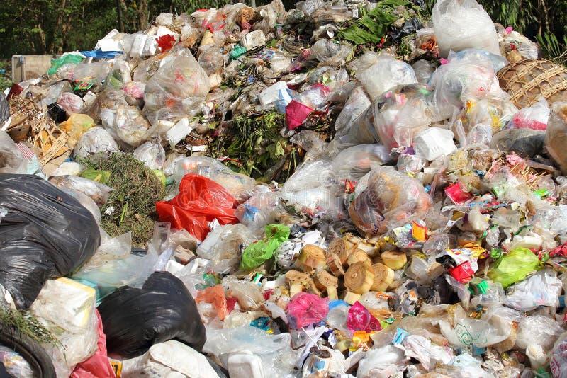 堆国内垃圾 免版税库存照片