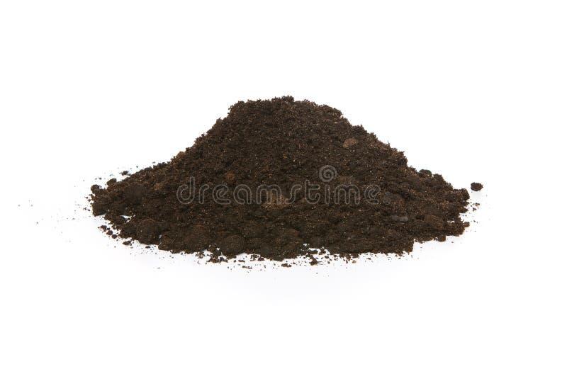 堆土壤 库存图片