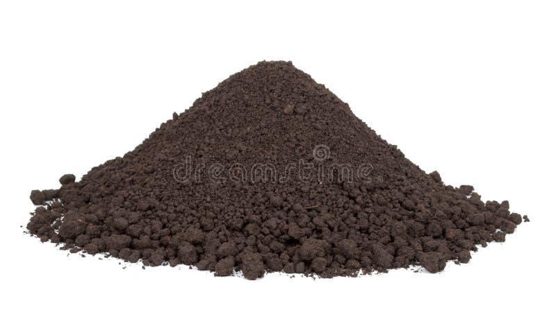 堆土壤 免版税库存照片