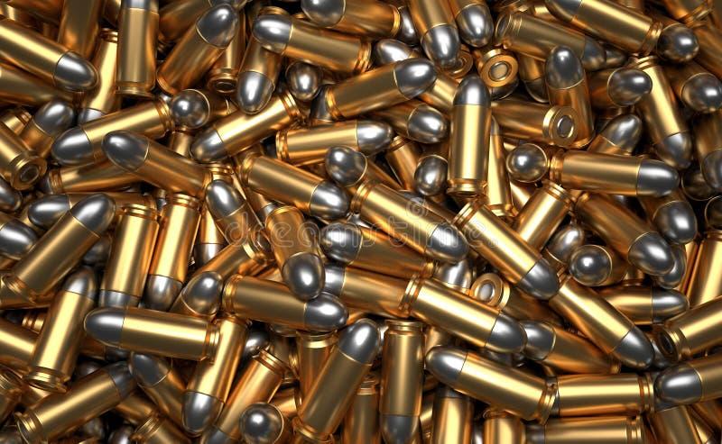 堆弹药 向量例证