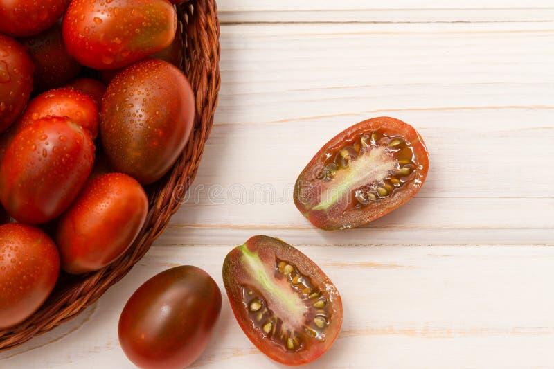 堆成熟蕃茄 免版税图库摄影