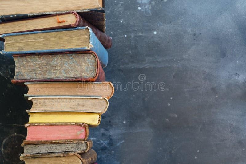 堆旧书 图库摄影