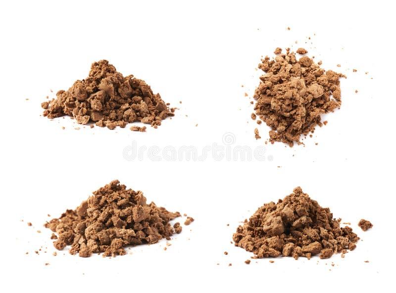 堆果仁糖碎屑 免版税库存图片