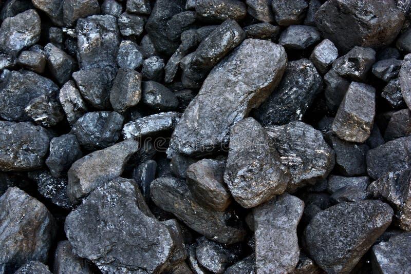 堆煤炭 免版税库存图片
