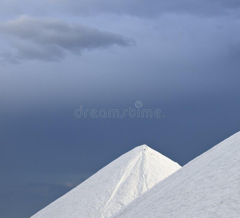 堆盐天空 库存图片