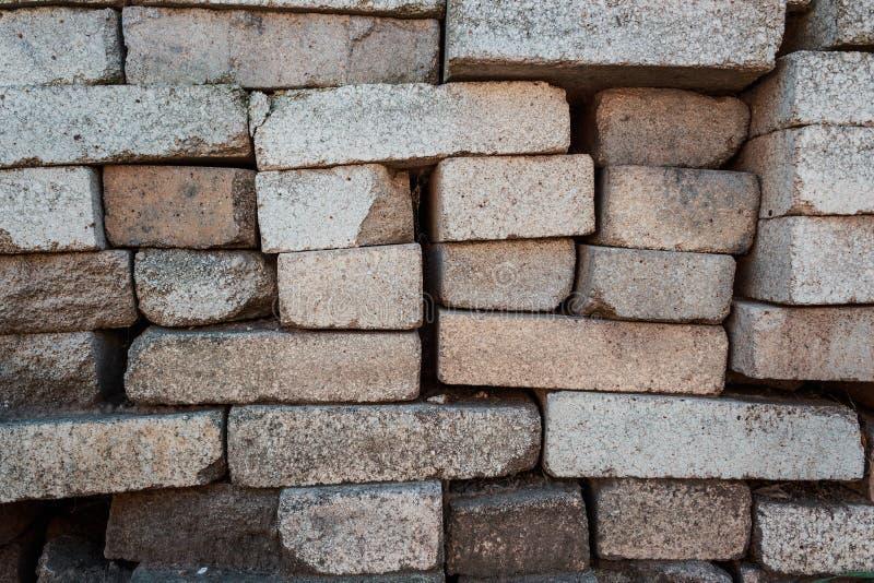 堆砖 仓库建筑材料 图库摄影