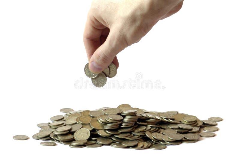 堆积货币 免版税库存图片