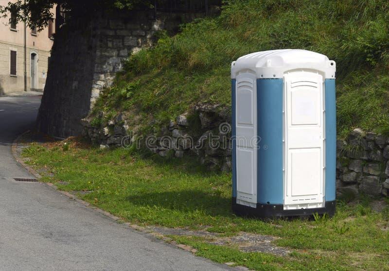 堆肥洗手间 免版税库存照片