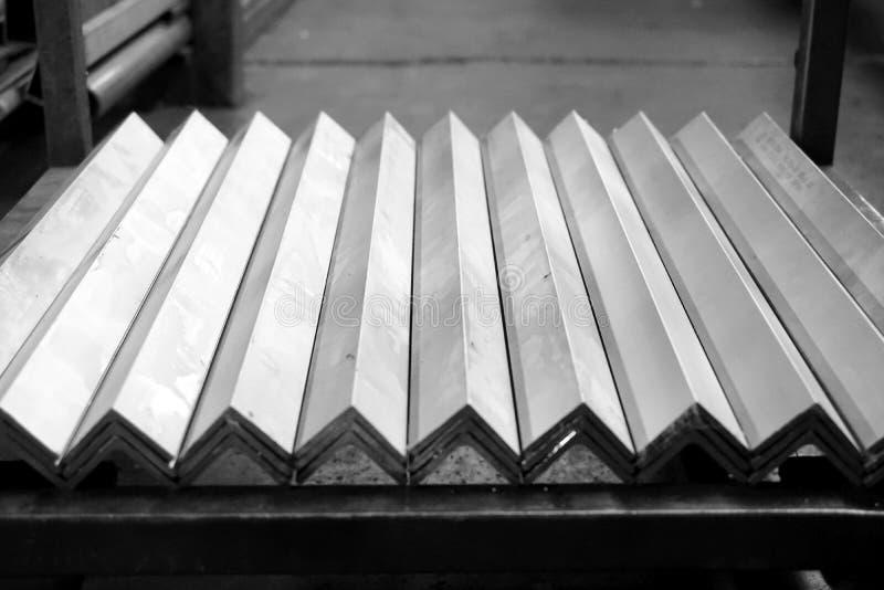 堆角度金属 免版税库存图片