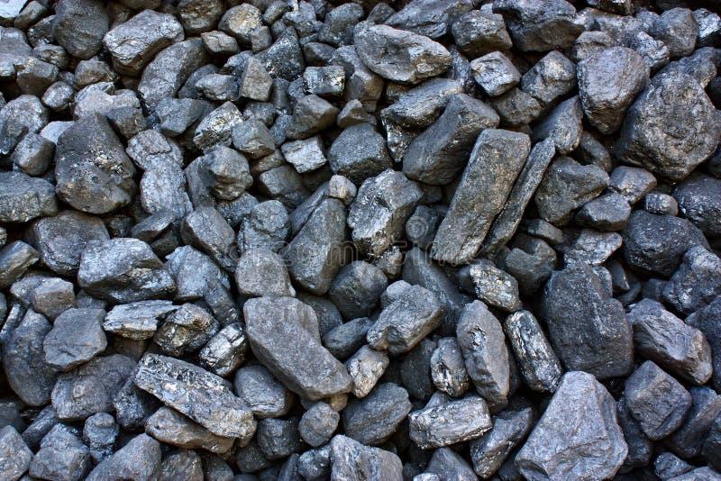 堆采煤 免版税图库摄影