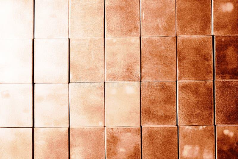 堆金属立方体 免版税库存照片