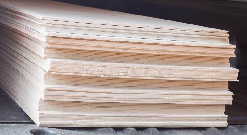 堆建筑的石膏板 库存图片