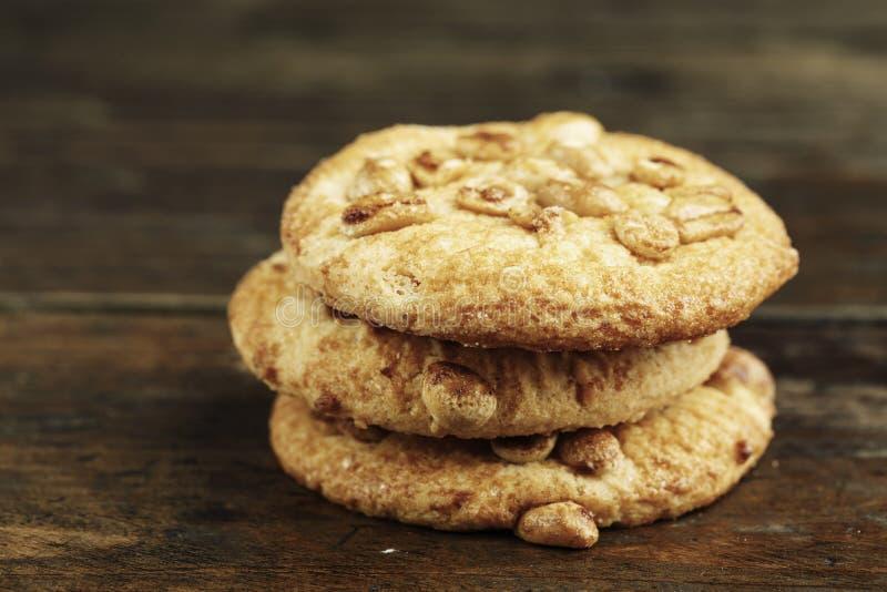 堆sweetmeal消化饼干 库存图片