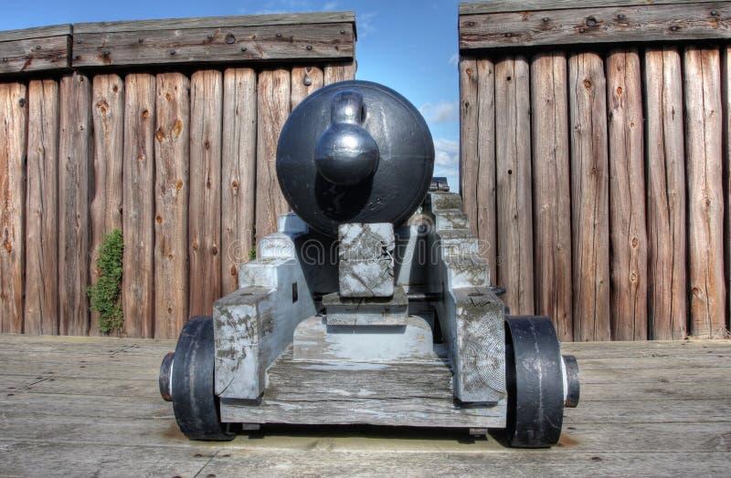 堡垒乔治有历史的国家站点 库存图片