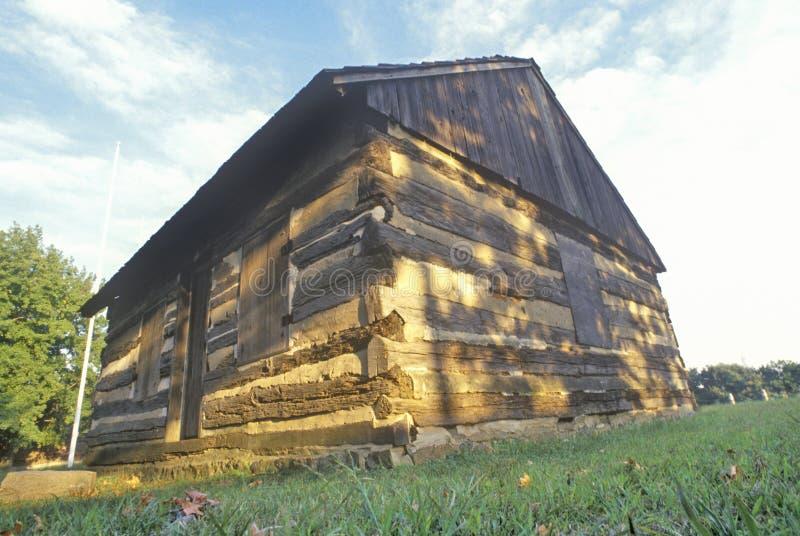 堡垒克里斯蒂娜,第一瑞典人解决,威明顿,特拉华 免版税库存图片