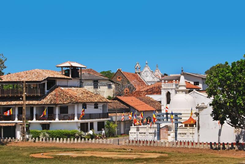堡垒加勒,斯里兰卡, 库存图片