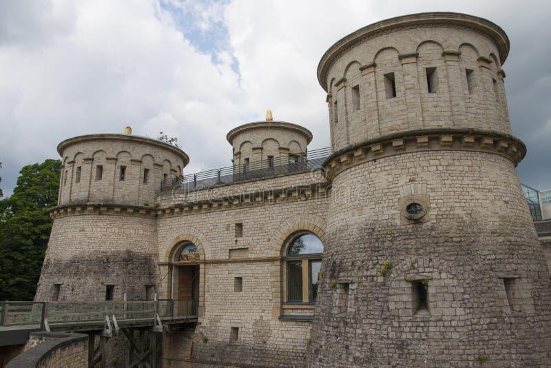 堡垒卢森堡 库存图片