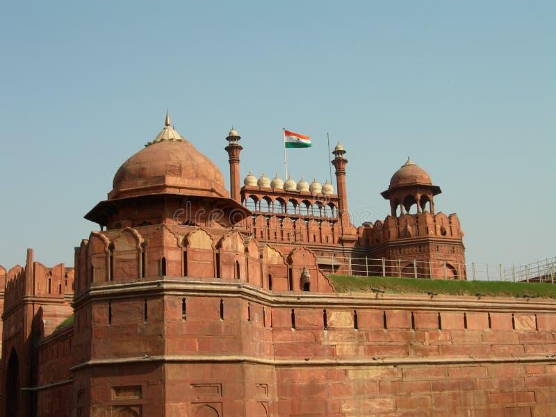 堡垒印度红色 库存照片