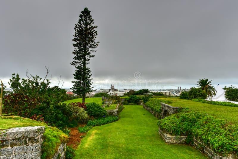 堡垒哈密尔顿,百慕大 免版税库存图片