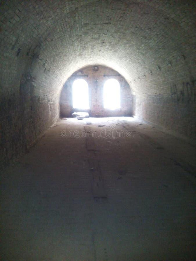 堡垒在托伦Polandfort w Toruniu 免版税库存照片