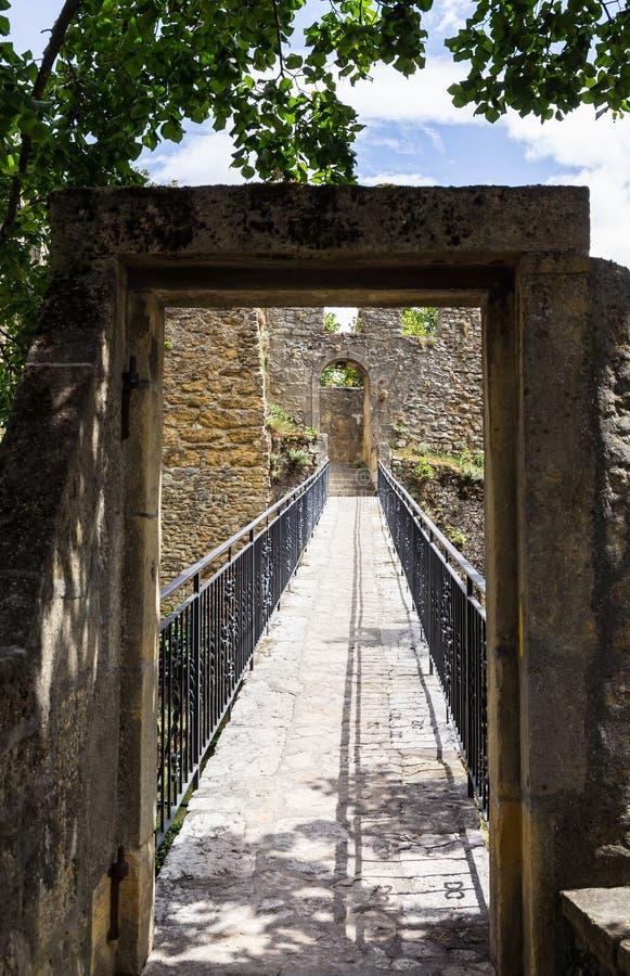 堡垒在纳沙泰尔4 免版税库存照片