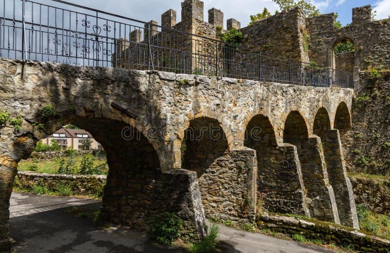 堡垒在纳沙泰尔3 库存照片