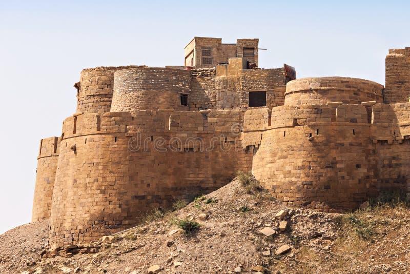 堡垒在Jaisalmer 免版税图库摄影